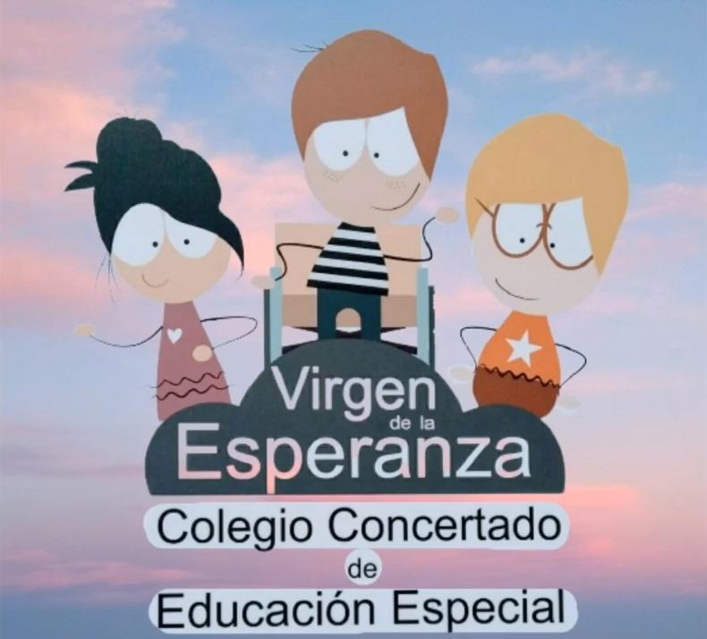 Logo centro de educación especial Virgen de la Esperanza