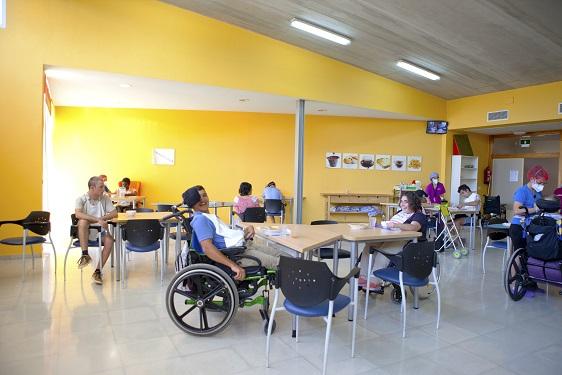 Residencia discapacitados interior_Aspajunide